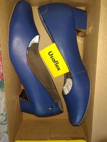 e008b2c19 Scarpin Varru Azul Marinho Usaflex - Sapatos com o Melhores Preços no Mercado  Livre Brasil
