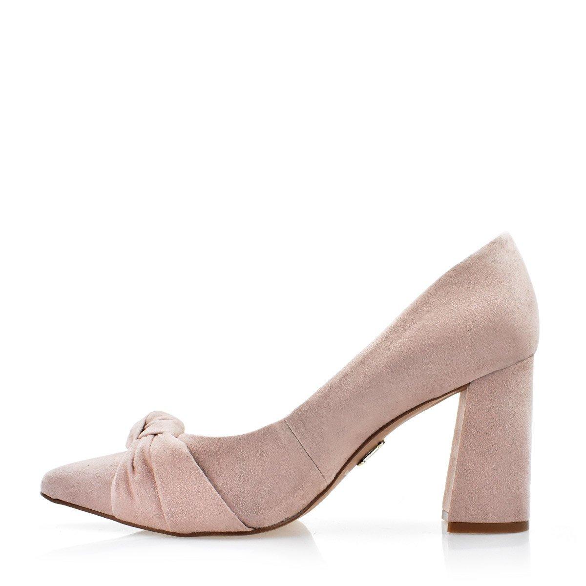 1e9ade99ff scarpin uza shoes salto grosso alto em camurça b14h618b0007. Carregando  zoom.