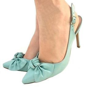 9e66057ad9 Scarpin Verde Tiffany - Scarpins para Feminino no Mercado Livre Brasil