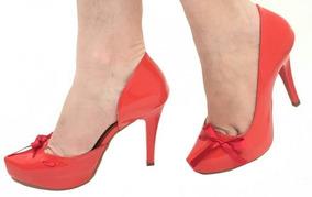 7c513e221c Saltos Swag - Scarpins para Feminino Laranja no Mercado Livre Brasil