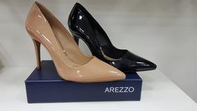 0635551623 Scarpin Bico Fino Arezzo 100 - Sapatos no Mercado Livre Brasil