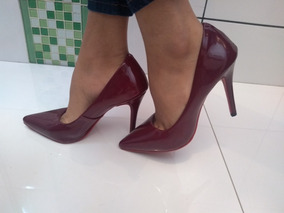 293067aa83 Sapato Verniz Ferracini - Scarpins para Feminino no Mercado Livre Brasil