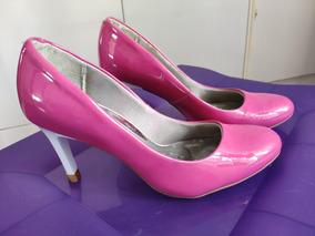 a34d267ac3 Scarpin Rosa Pink Veludo Feminino Vizzano - Sapatos no Mercado Livre Brasil