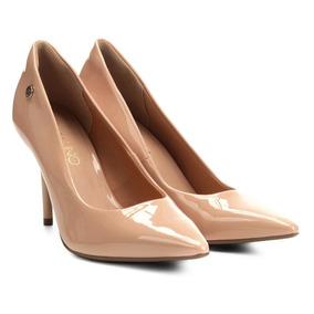 69903fc371 Scarpin Via Uno Cor Vinho Com Correia Removível Feminino - Sapatos ...