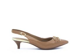 3491466b25 Scarpin Caramelo Salto Baixo - Sapatos no Mercado Livre Brasil