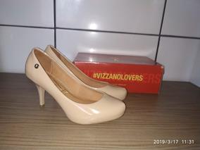 51482ec6cd Scarpin Vizzano Meia Pata Bico Redondo Frete Grátis!!! - Sapatos no ...