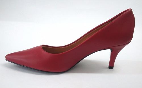 scarpin vizzano pelica vermelho 1185 último par n37