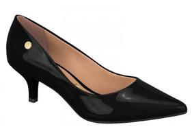 ad177524ef Scarpin Vizzano Salto Baixo Feminino - Sapatos no Mercado Livre Brasil