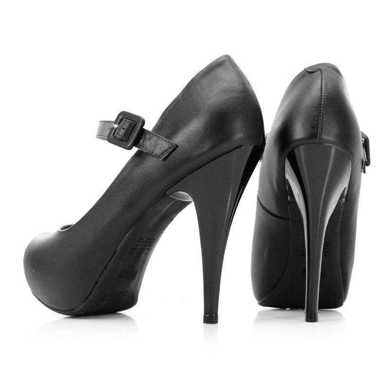 9a773949e Sapato Scarpin Vizzano Pelica Preto - 1143304 - R$ 99,90 em Mercado ...