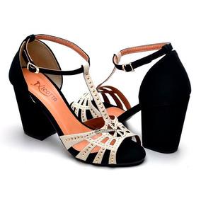 4b6887e29 Sapato Zara Em Couro Preto Feminino Sandalias Dakota - Sapatos no ...