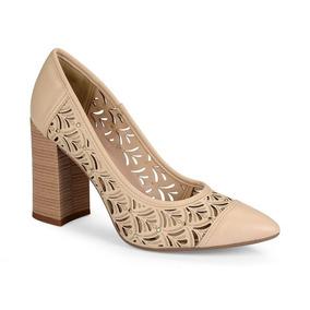 9cf7aea46d Sapato Tigrado 1680 - Scarpins para Feminino Nude no Mercado Livre ...