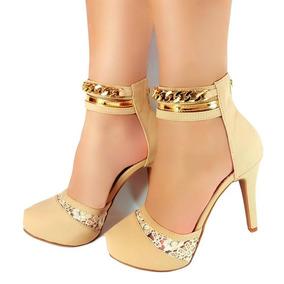 0195c08761 Sapato Salto Fino Balada no Mercado Livre Brasil