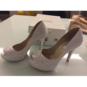 3beec1e0d Sapato Pra Noiva Durval Cetim Sapatos - Sapatos no Mercado Livre Brasil