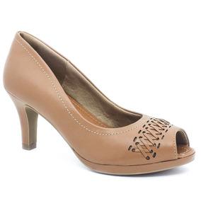 bdcaf701a Sapato Branco Feminino Usaflex - Sapatos para Feminino no Mercado ...