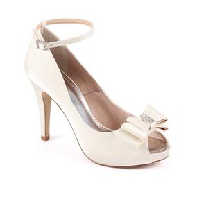 2ee6cbd8a Sapato Noiva Debutante Tam 34 Feminino Peep Toe - Sapatos no Mercado ...
