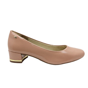 d1a41ac3d1 Scarpin Dakota Total Comfort Prata Salto Baixo Feminino - Sapatos no ...
