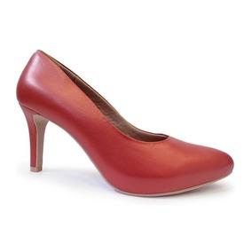 e6364c8a4 Sapato Scarpin Usaflex Meia Pata Feminino - Scarpins Feminino no ...