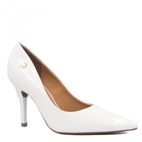 2c4fdd66a0 Scarpins Femininas Vizzano - Sapatos Branco no Mercado Livre Brasil