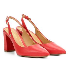 aa4fb6c14 Scarpin Vermelho Feminino Scarpins Bottero - Calçados
