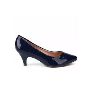 54a5e29c9 Sapato Scarpin Boneca Beira Rio - Sapatos para Feminino Azul marinho ...