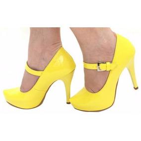 667b2c03f0 Tam35 Sapato Boneca Com Tiras - Sapatos no Mercado Livre Brasil