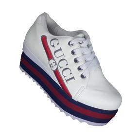 32f99bf5c5173 Tenis Salto Plataforma Da Moda - Calçados