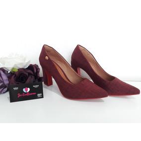 a427216d5c Sapato Scarpin Solado Oncinha Vermelho - Sapatos Violeta escuro no ...