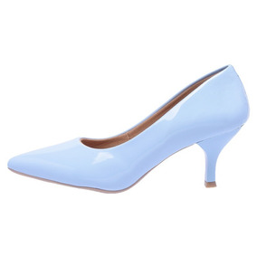 296a104e2 Scarpin Claudina Glitter By Saparetto Feminino - Sapatos no Mercado ...