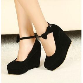 60179c8b54 Sapato Feminino Importado Estilo Boneca Em Camurça Co5478