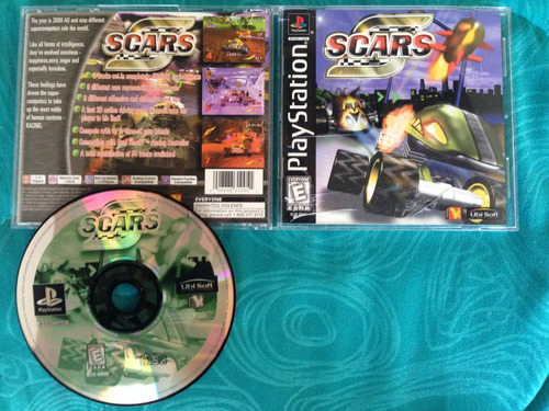 s.c.a.r.s. / playstation 1 ps1 / ps2 ps3  usa 14