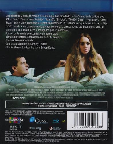 scary movie 5 cinco el mal ya viene pelicula blu-ray