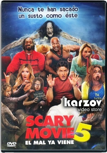 Scary Movie 5 El Mal Ya Viene Pelicula Dvd 129 00 En Mercado Libre