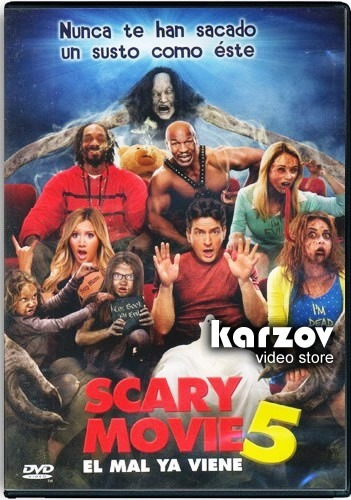 scary movie 5 el mal ya viene pelicula dvd