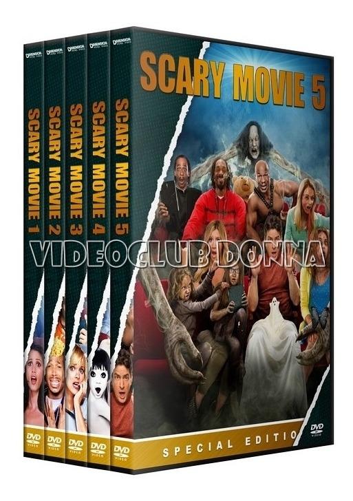 Scary Movie Saga Dvd Coleccion Pack 5 Peliculas 1 299 00 En Mercado Libre