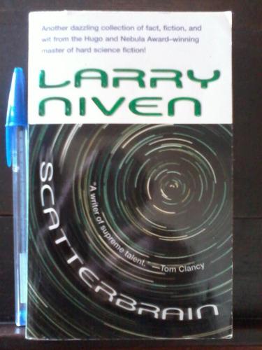 scatterbrain  - larry niven - paperback en inglés - 2004