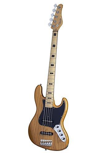 schecter diamond-j 5 plus an guitarra bajo de 5 secciones,