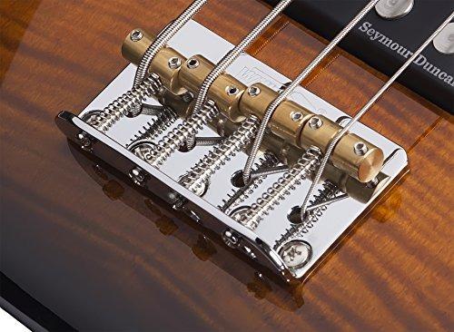 schecter diamond-p plus dvs guitarra baja de 4 cuerdas, dar