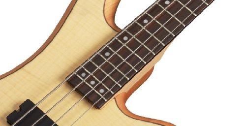schecter stiletto custom-4 bajo eléctrico (4 cuerdas, satin