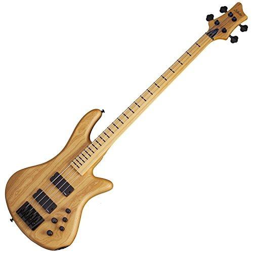 schecter stiletto session-4 fretless guitarra baja de 4 cue