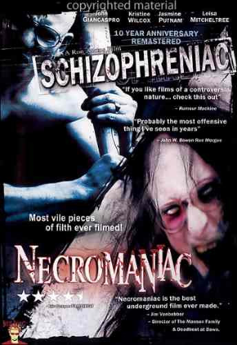 schizofreniac / necromaniac. original y sellado (1 disco)