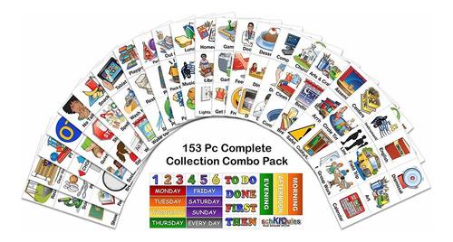 schkidules 153 pc complete collection combo pk para horarios
