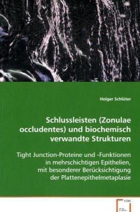schlussleisten (zonulae occludentes)und biochemisch verwand
