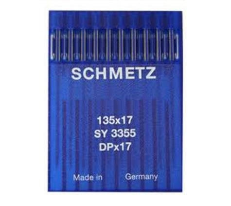 schmetz 50pcs tamaño 18 20 21 23 24 135x17 dpx17 pie de la