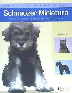 schnauzer miniatura(libro )