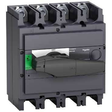 schneider electric ins 400 amp interpac 4 polos