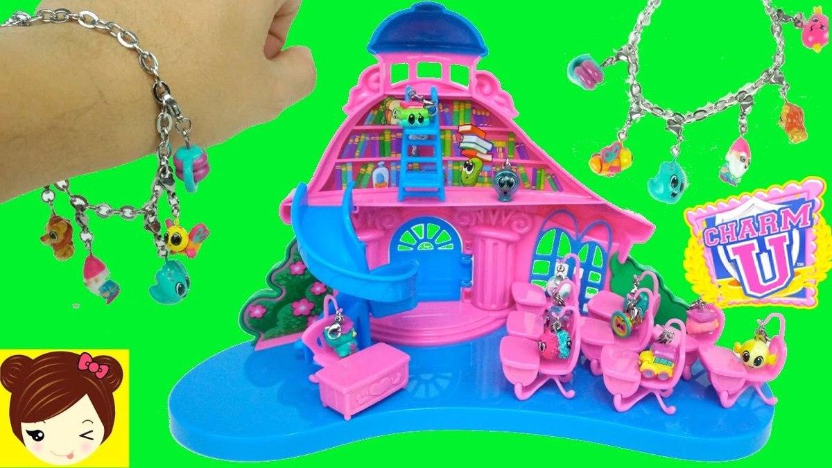schoolhouse playset charm u casa con tobogn nenas x dijes