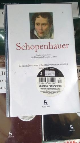schopenhauer i. gredos. entrega no. 17
