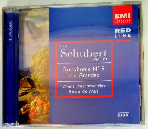 schubert symphonie n°9 la grande cd original y nuevo