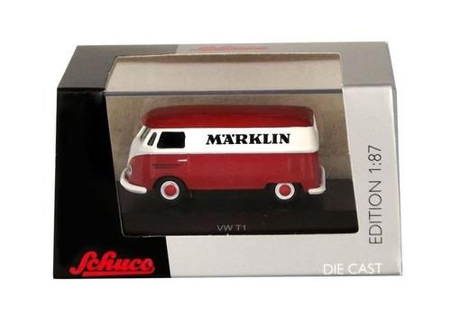 schuco kombi vw t1 1/87 marklin volkswagen marklgh