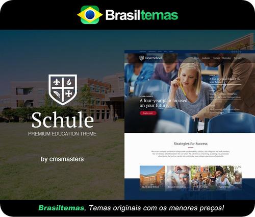 schule - tema wordpress escola e educação - original